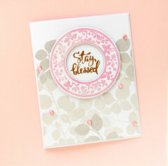 STAY BLESSED -CArd