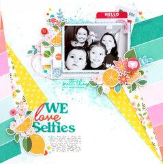 WE LOVE SELFIES