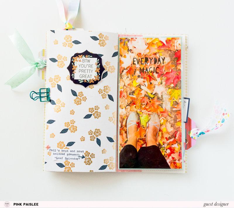 FALL MEMORIES - Traveler's Notebook