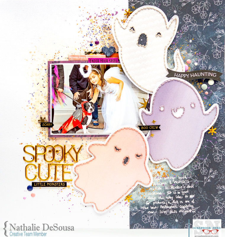 SPOOKY CUTE LITTLE MONSTERS