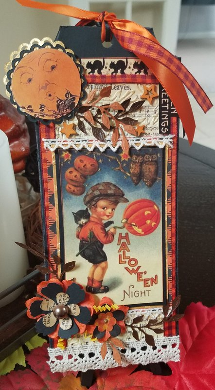Halloween Tag Swap 2017 ~ for Marci