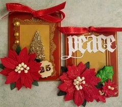 Christmas Greetings Tags