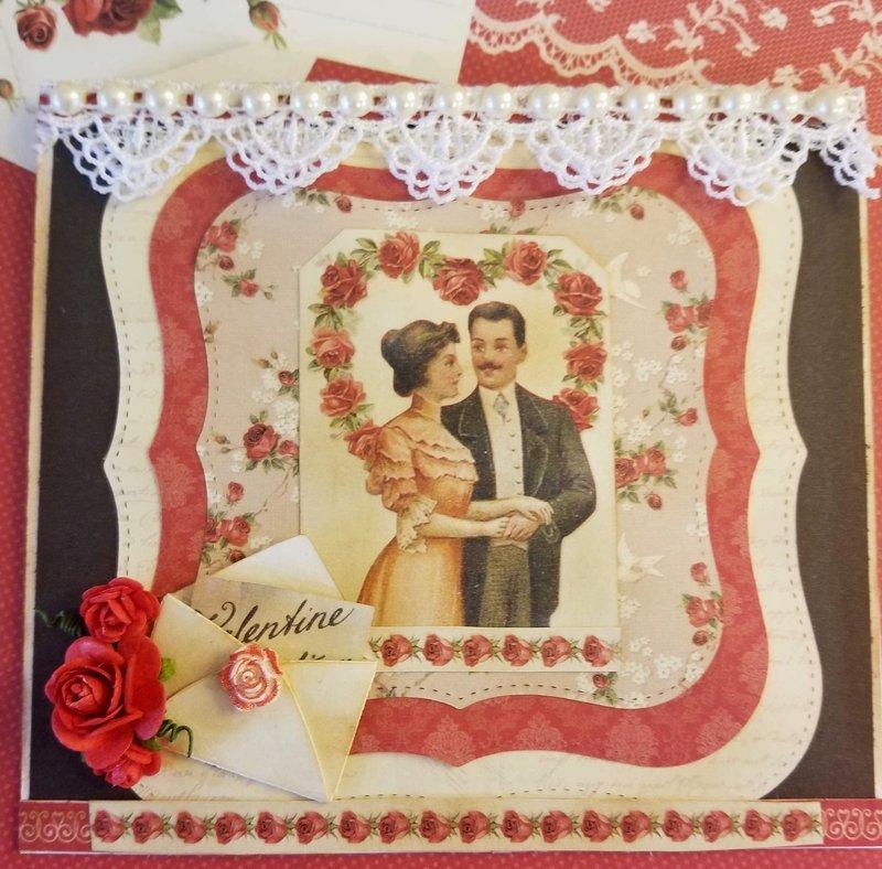 Valentine Greetings Card