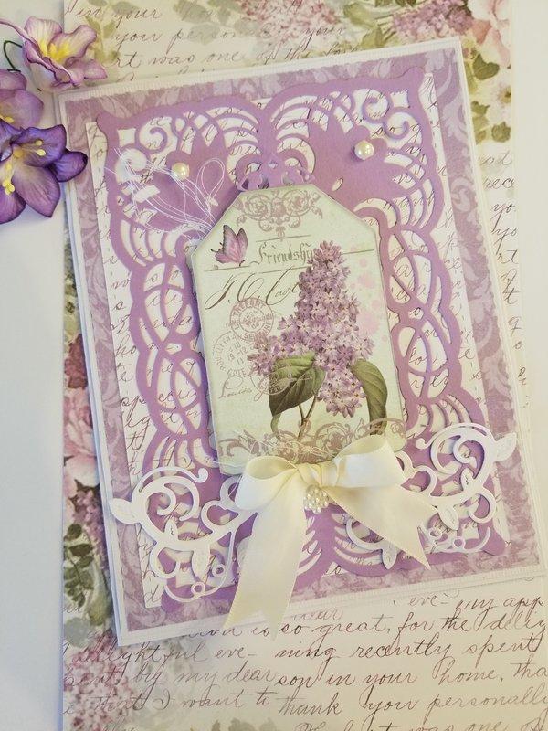 Friendship Easter Card