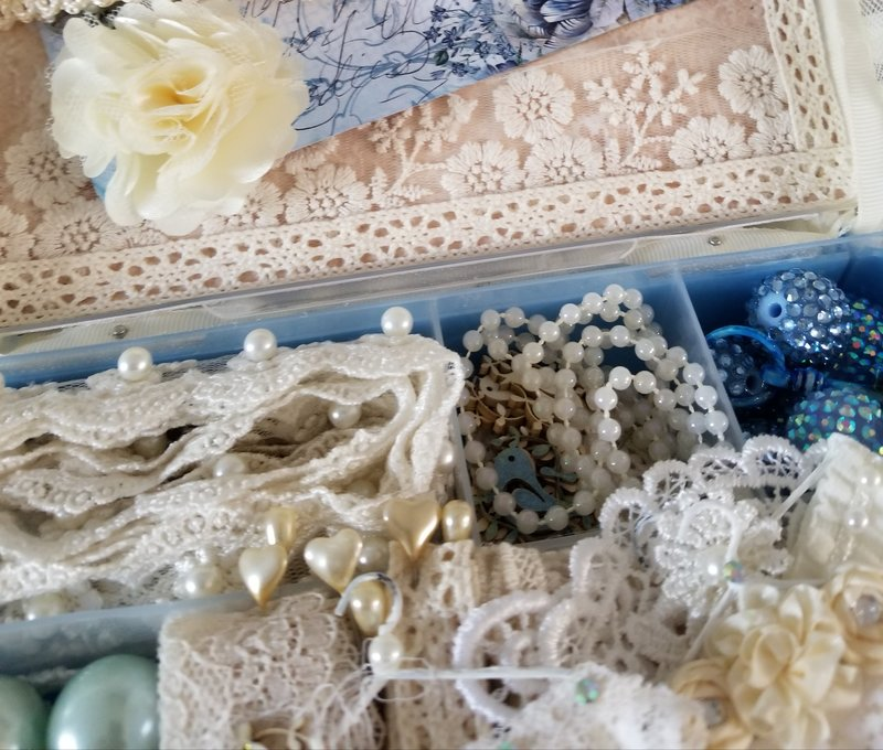 Embellishments Box Swap