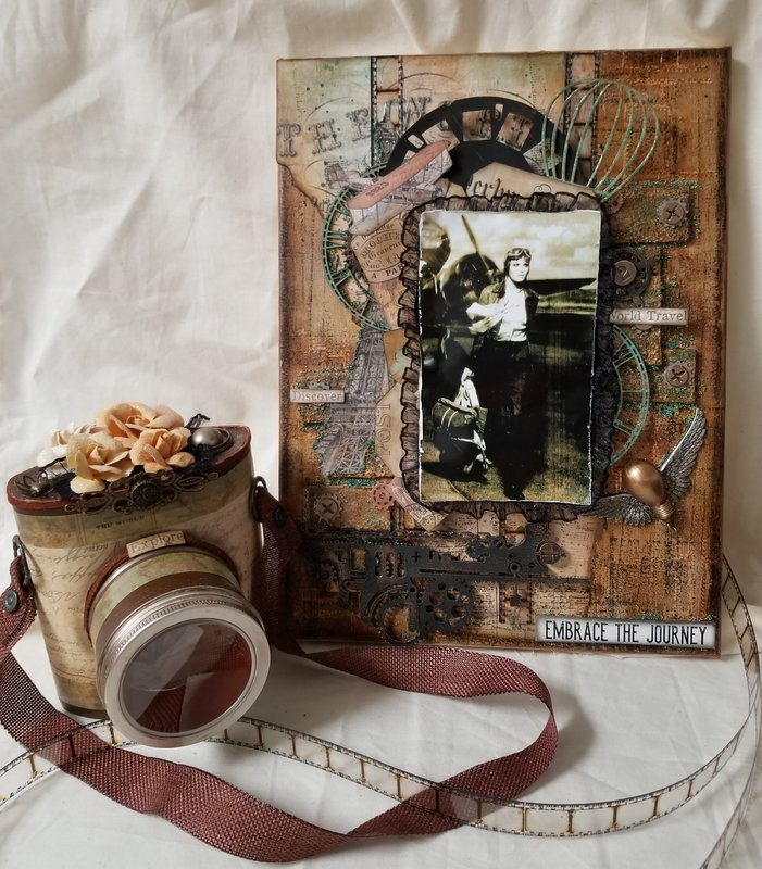 Embrace The Journey~mm Canvas and Camera