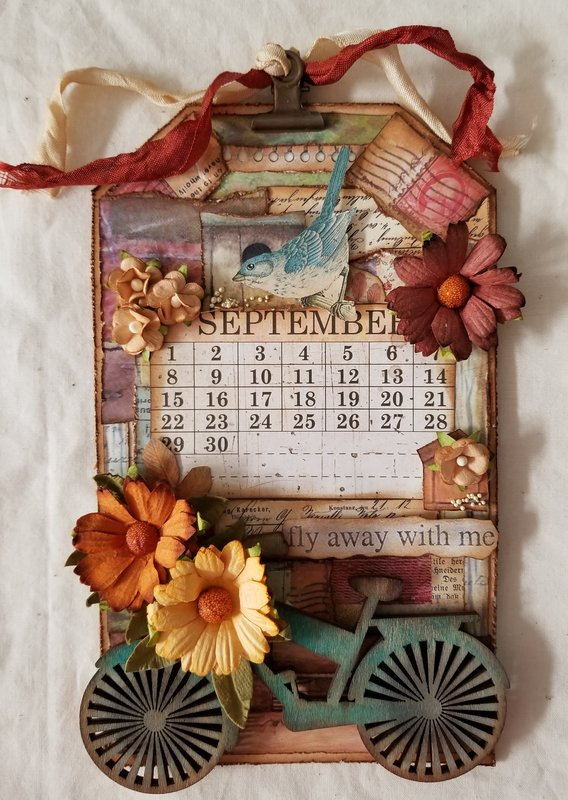 September Collage Tag~For Elizabeth