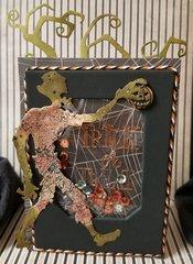 ~Halloween Shaker Card~