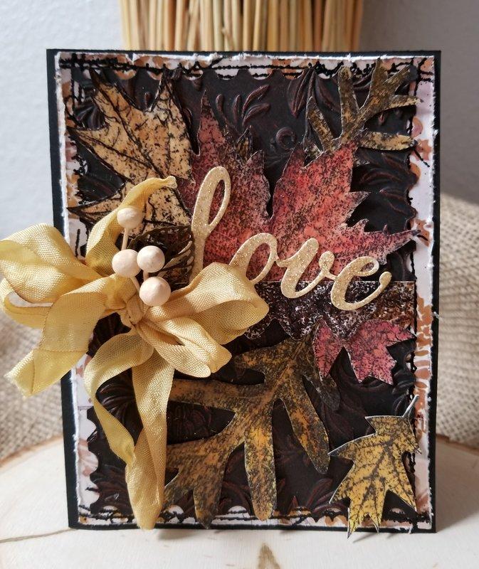~Love~Thanksgiving Card