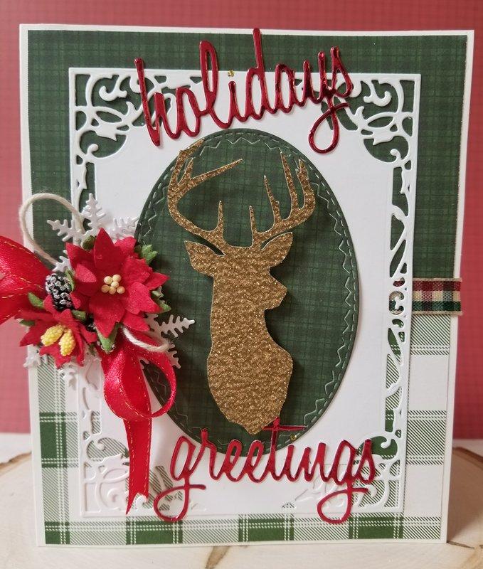 ~Holidays Greetings~ Christmas Card