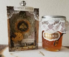 Altered Mini Box & Lemon Honey Jelly