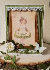~Happy St. Patrick's Day ~Vintage Card