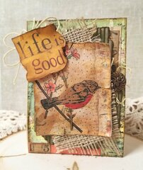 Life is good ~ Card for my class~
