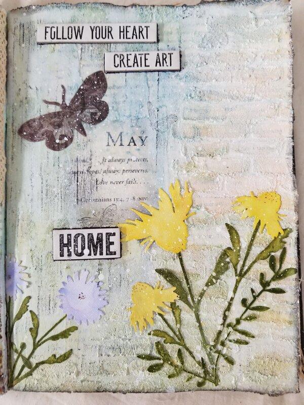 My Monthly Art Journal