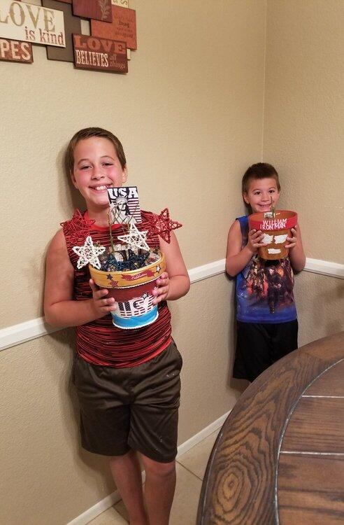Joseph and William's Altered Pots