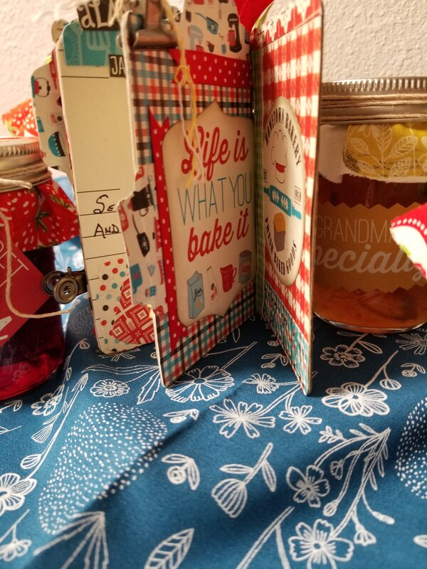 A Mini Recipe Booklet & Jams, Jelly, and Toppings