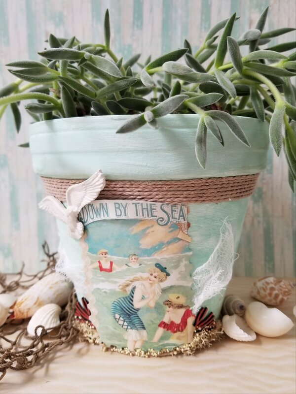Altered Clay Pot