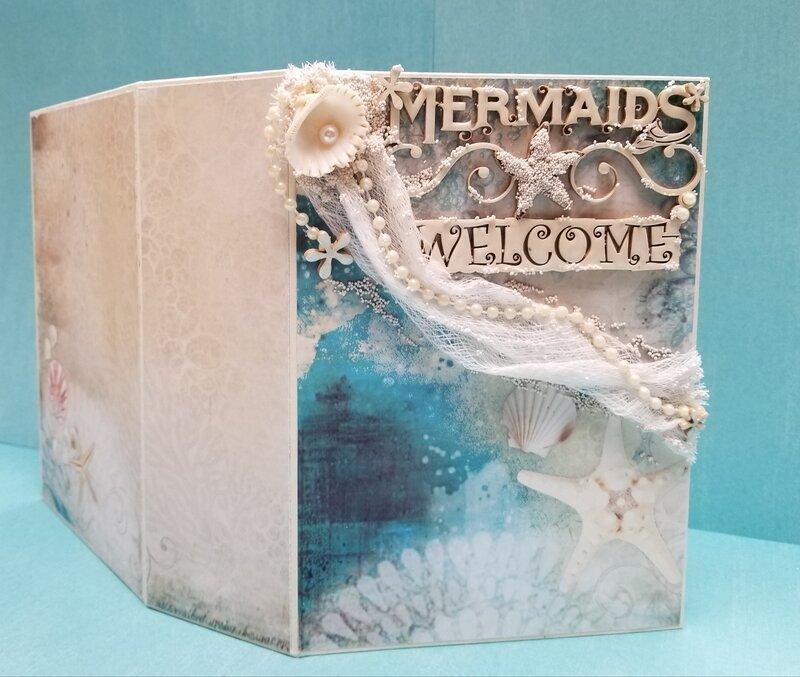 Mermaids Welcome ~Ocean Box~