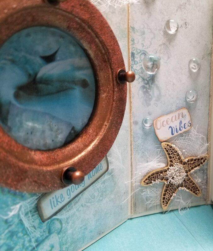 Mermaid's Welcome ~Ocean Box~