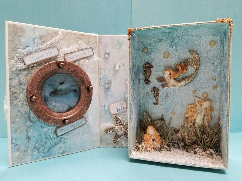 Mermaids Welcome~ Ocean Box~