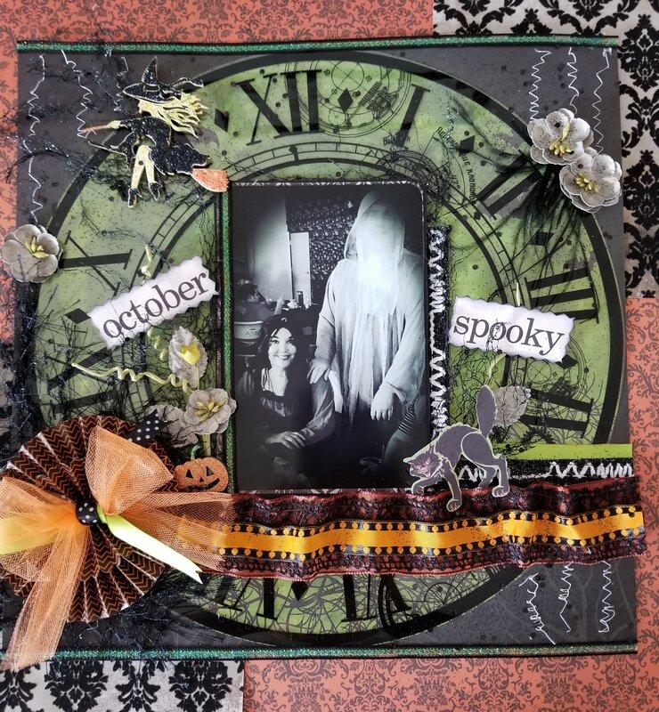 October Spooky Fun Layout
