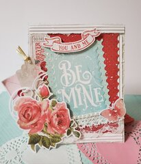 Be Mine Valentine's Day Card