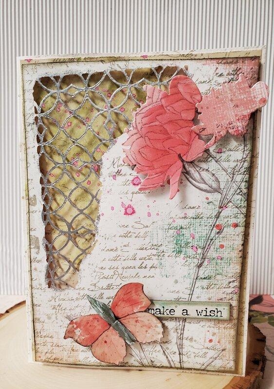 Make A Wish ~Artsy Card~