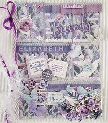 Friends Pocket Letter For Elizabeth