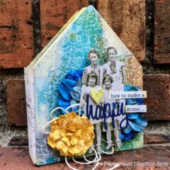 Eileen Hull House Shaped Mini Album