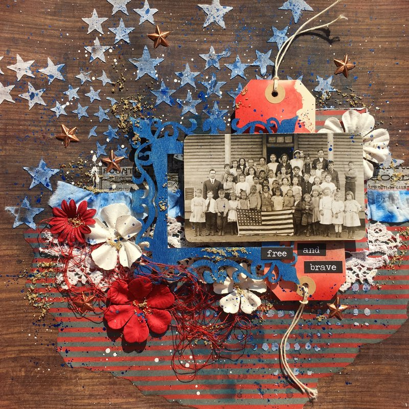 Vintage 4th of July Celebration