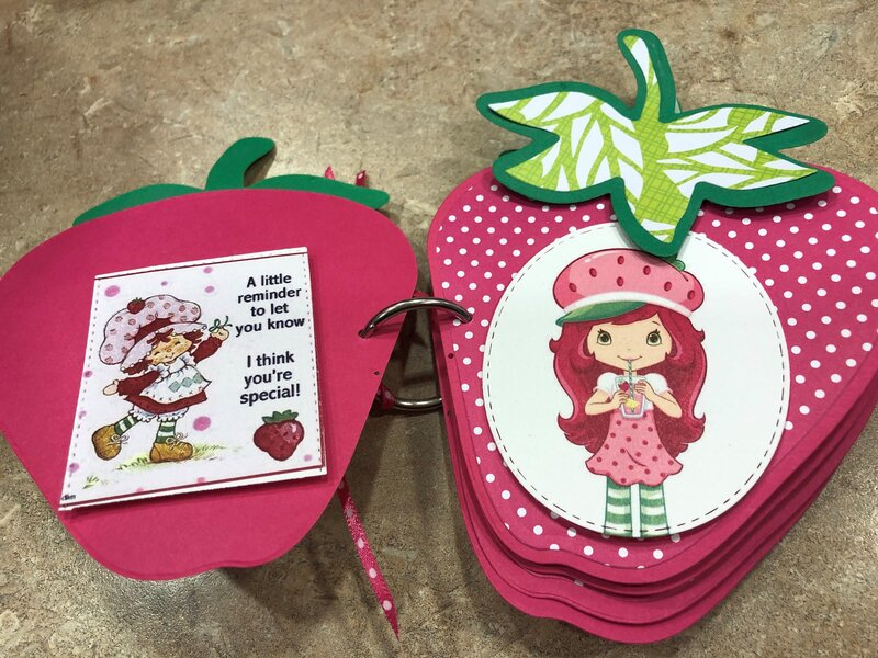 Strawberry Shortcake page