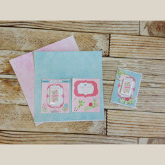 Happy Easter Greeting Card - pieces