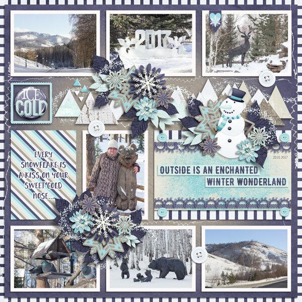 January: Icey Dreams
