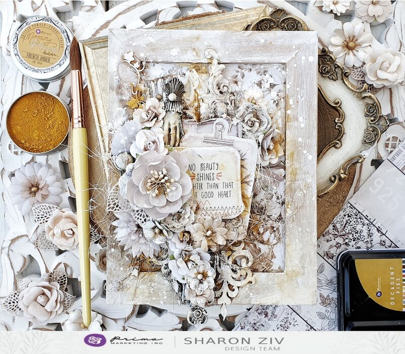 Altered frame by Sharon Ziv