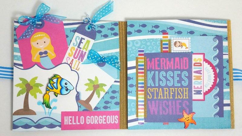 Ocean Themed Flip Book