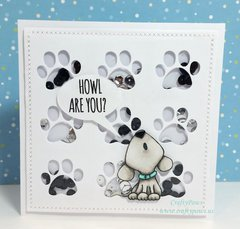 Multi-Compartment Puppy Shaker Card
