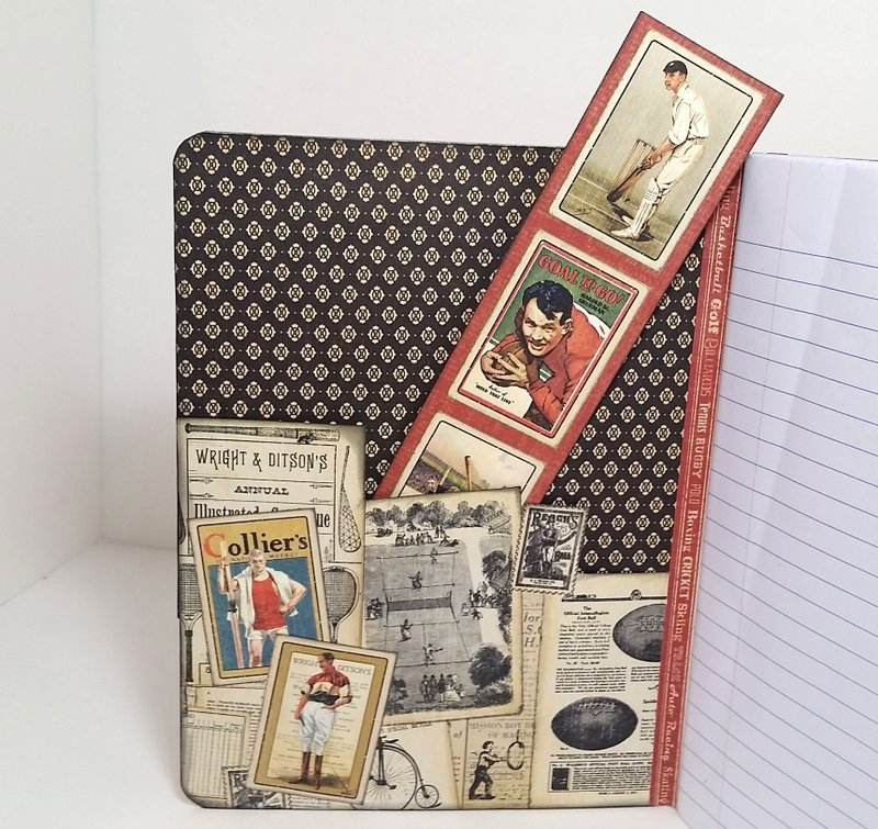 Masculine Altered Journal for Hospice Care Resident