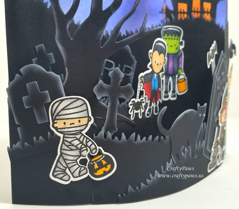 Interactive Bendi Halloween Card