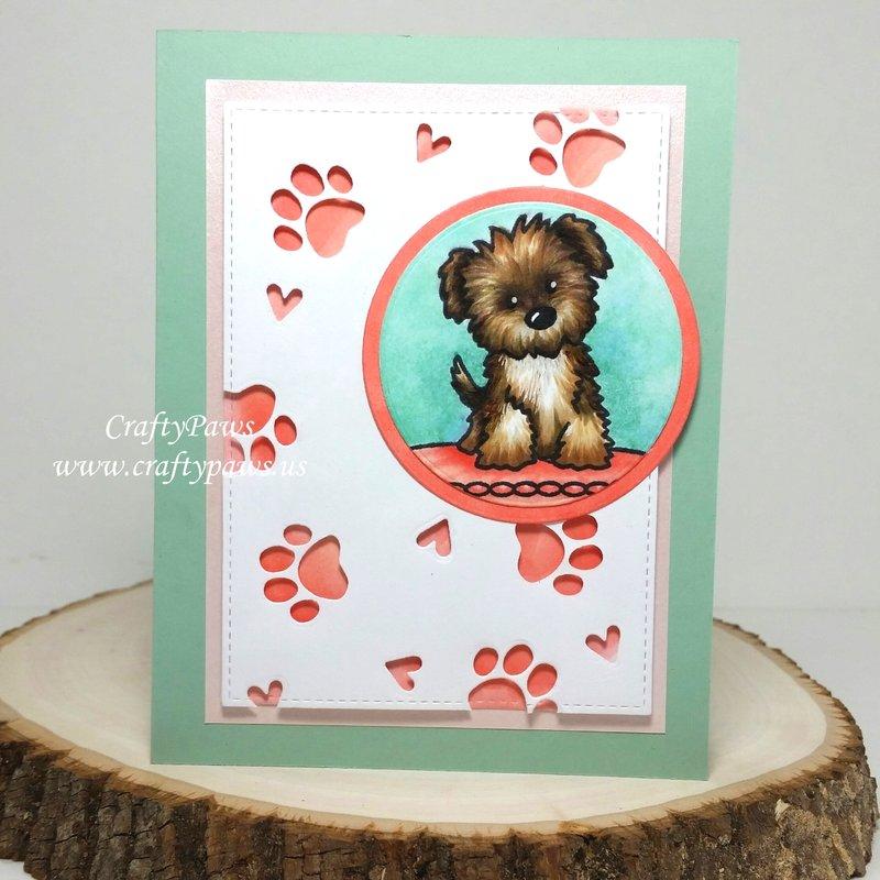 Sweet Puppy Love Card