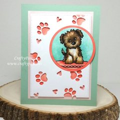 Sweet Puppy Love Card