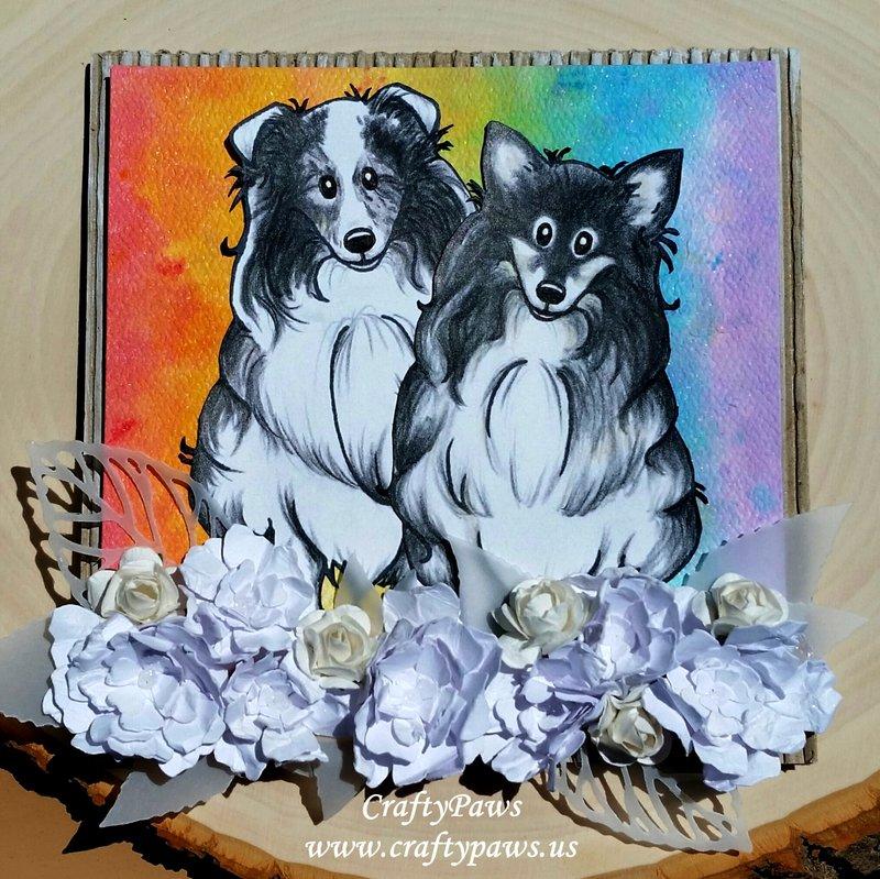 Circle of Life Pet Sympathy Card + FREE Digis