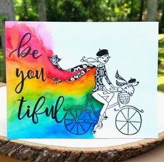 Be You tiful Rainbow Card