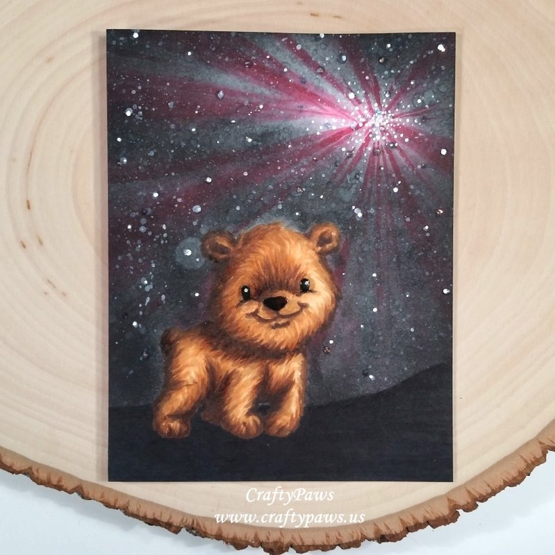 BEARy Special Starry Night