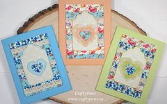 Shabby Chic Note Card Gift Set