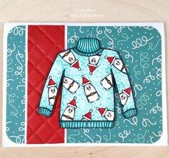 Ugly Sweater Christmas Card III