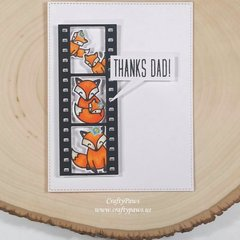 Foxy Fathers Day Card