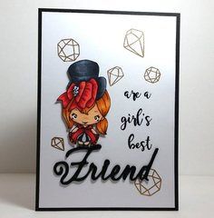 Cheeky Engagement Card