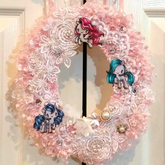 Magical Easter/Spring Wreath