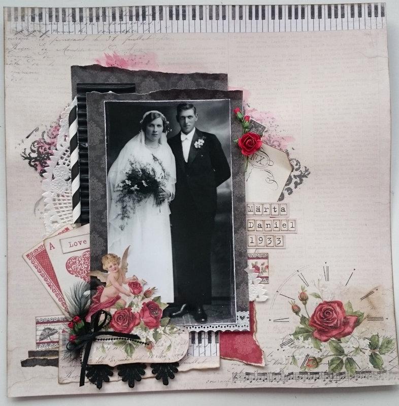 Romatic Vintage Wedding layout