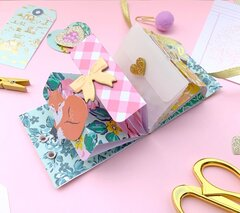 A mini album for tiny trinkets snail mail junk journal